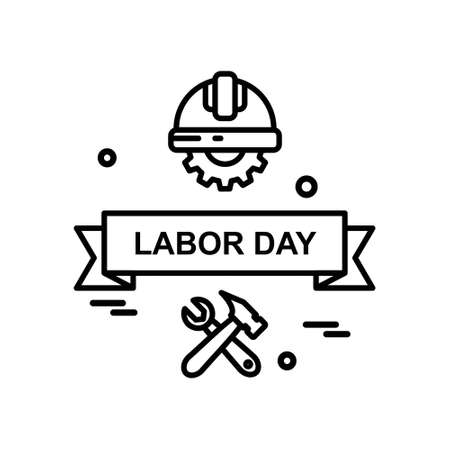 Einfache Ikone des Arbeitstages mit weißem Hintergrundvektor. Für Webdesign und Anwendungsoberfläche, auch nützlich für Infografiken. Vektorillustration. Vektorgrafik