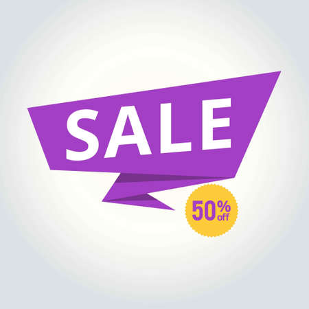 Sale background with shop icons. Vector sale banner template. Shop now.. For web design and application interface, also useful for infographics. Vector illustration.