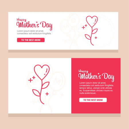 happy mother day, holiday background. can be use for sale advertisement, backdrop. vector. For web design and application interface, also useful for infographics. Vector illustration.