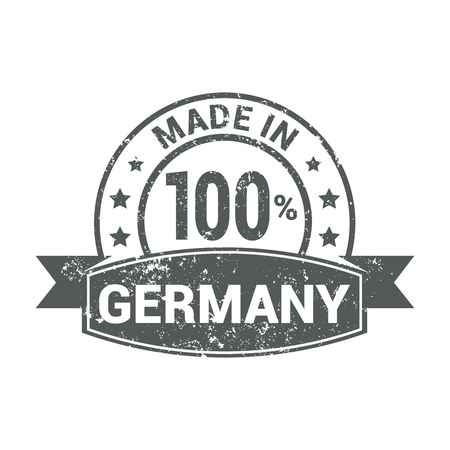 Germany stamp design vector