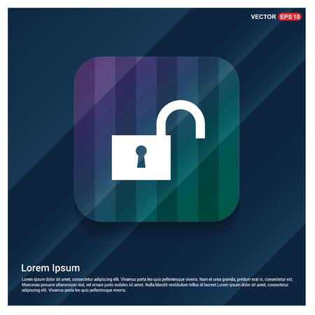 Web Lock Icon - Free vector icon