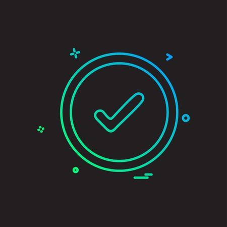 Good icon design vector