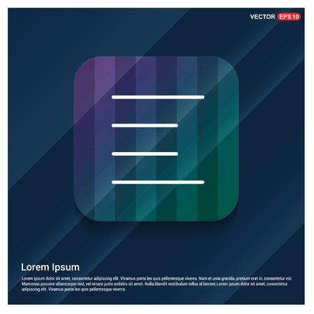 icône de menu - Icône de vecteur gratuit Vecteurs