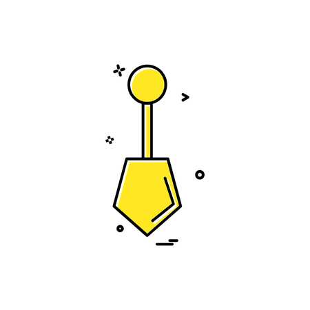 Hardware tool icon design vector