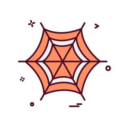 Halloween icon design vector Ilustração