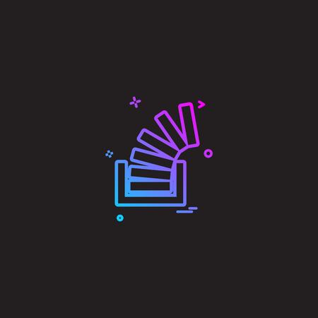 Stackoverflow icon design vector