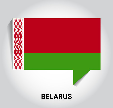 Belarus flag design vector