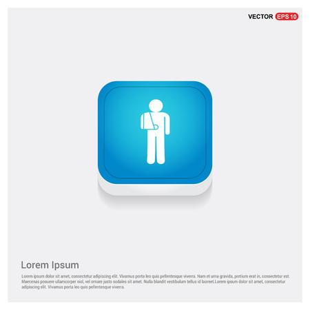 patient, icon Stock Vector - 110067772