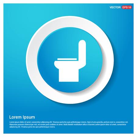 Toilet Icon Illustration