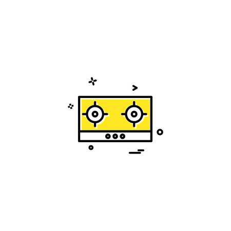 Casette icon design vector