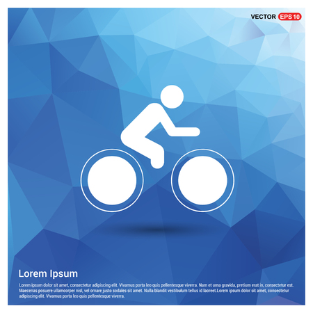 Track Cycling Icon - Free vector icon