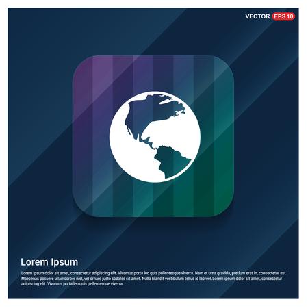 Globe Icon - Free vector icon