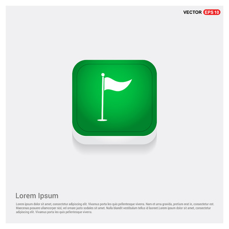 Golf Flag Icon