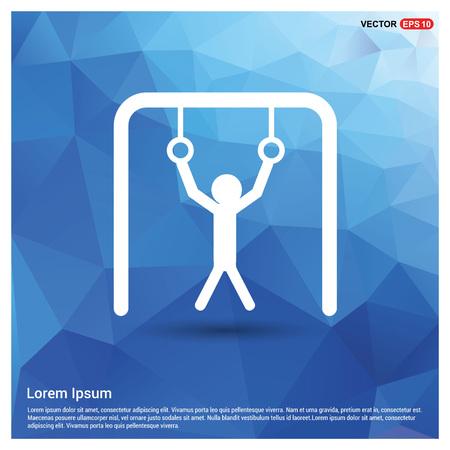 Gymnastic Ring Icon