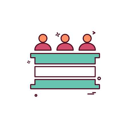 law court people person icon vector design