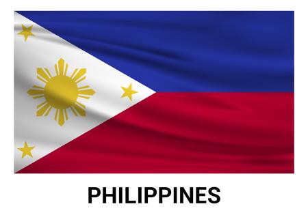 Phillipines flags design vector