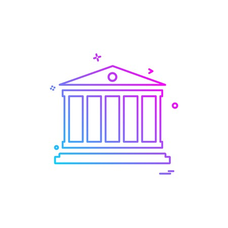 judge justice law police protection security icon vector design