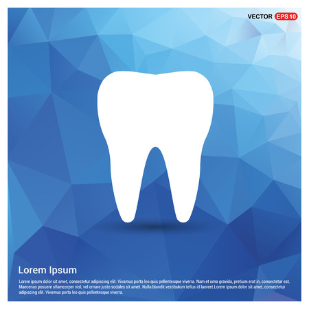 Vector Tooth Icon - Free vector icon