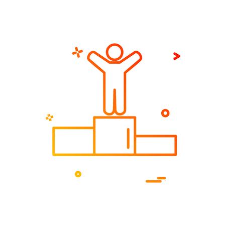 position icon vector design