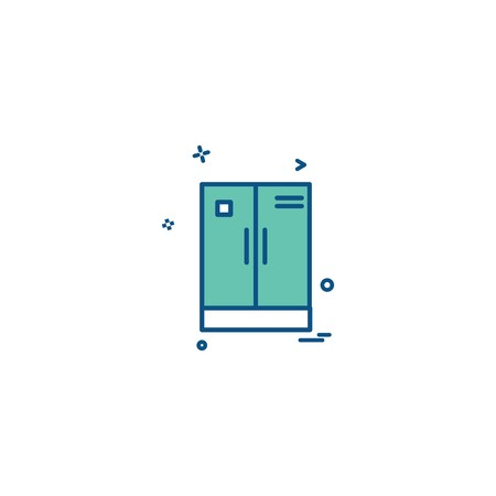Cupboard icon design vector