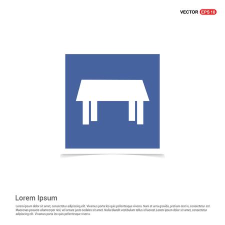 Table Icon - Blue photo Frame