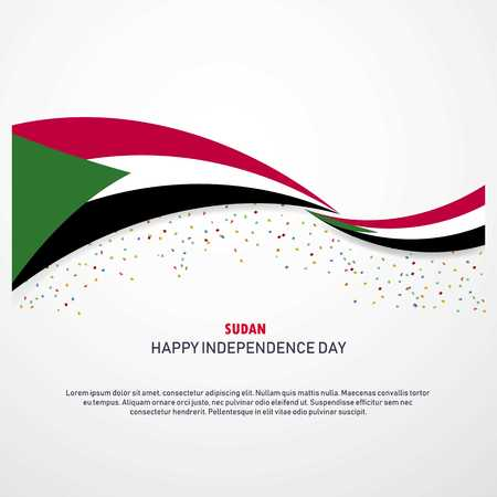 Sudan Happy independence day Background