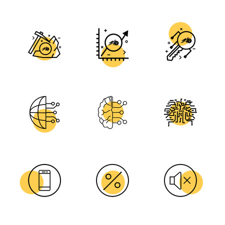 Icon design vector Vettoriali