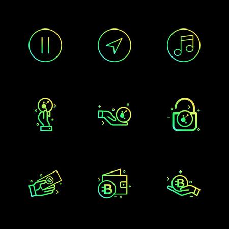 Vettore di disegno dell'icona