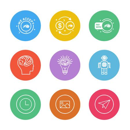 Icon design vector Çizim