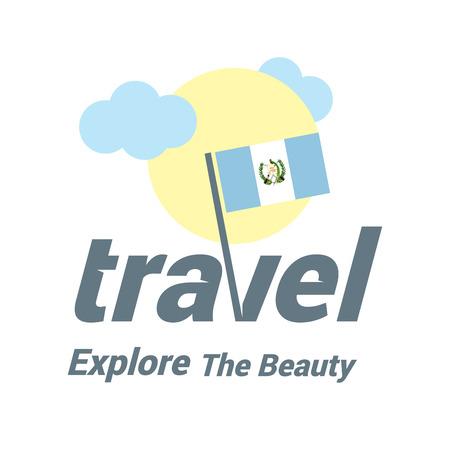 Web logo for travel Illustration