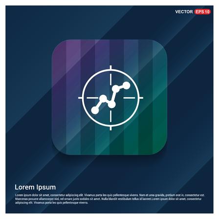 Aim target icon - Free vector icon