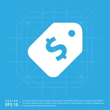 Sale tag icon Illustration