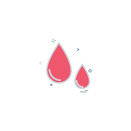 blood drib drop donation health healthcare icon vector desige