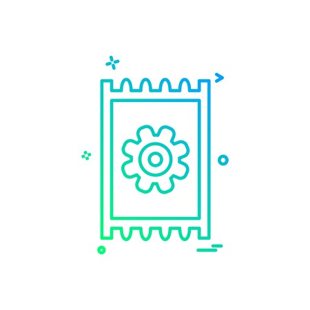 Prayer mat icon design vector