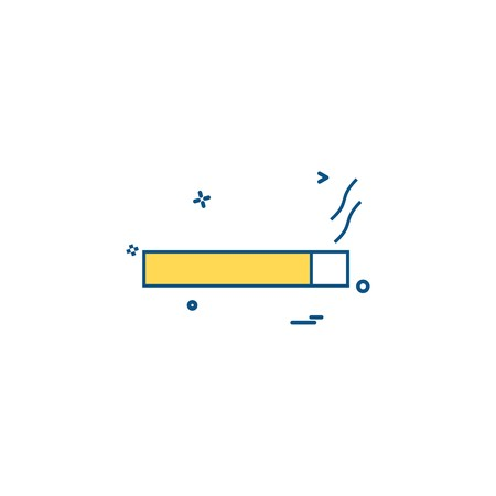 smoke cigarette tobacco icon vector design
