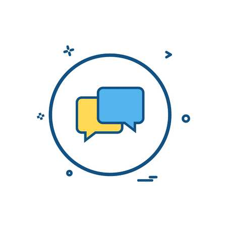 sms chat icon vector design