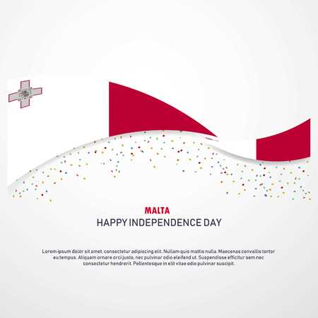 Malta Happy independence day Background