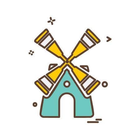 Turbine icon design vector Reklamní fotografie - 118240776