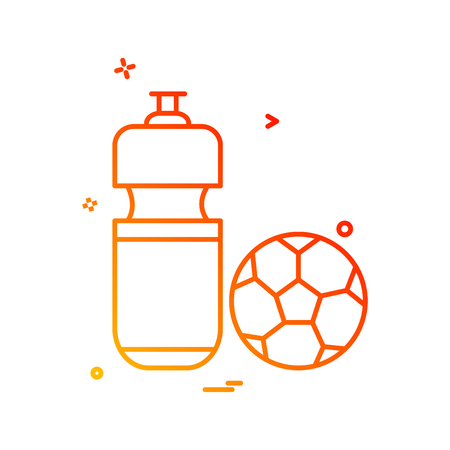 football icon vector design Stock Illustratie