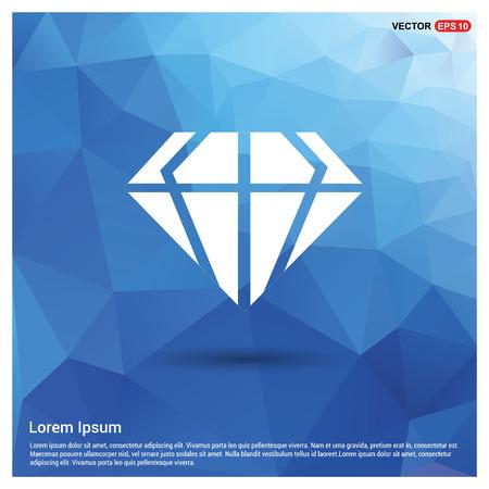Diamond icon Ilustrace