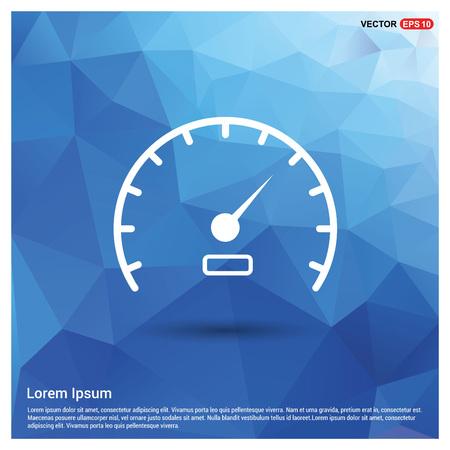 Speedometer Icon Illustration