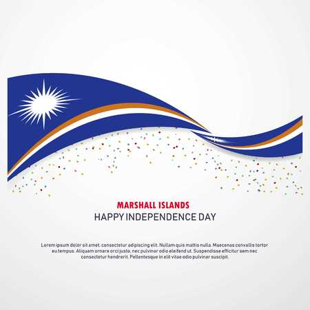 Marshall Islands Happy independence day Background
