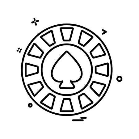 Spade icon design vector