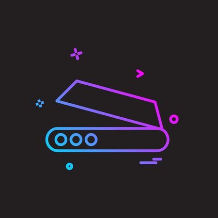 Scanner icon design vector
