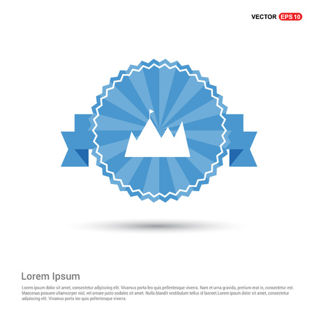 mountain icon Ilustrace