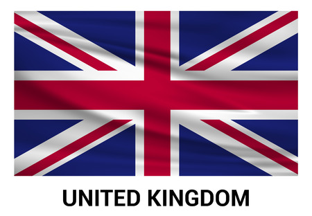 United Kingdom flag design vector
