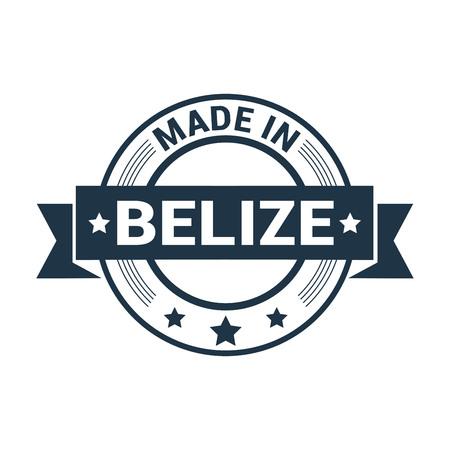 Belize stamp design vector Vetores