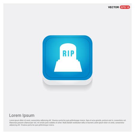 Halloween RIP Grave Stone icon