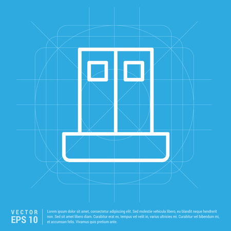 building icon Ilustrace