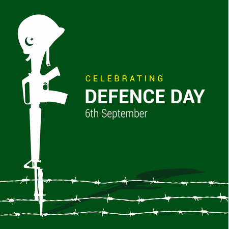 Designvektor des pakistanischen Verteidigungstags